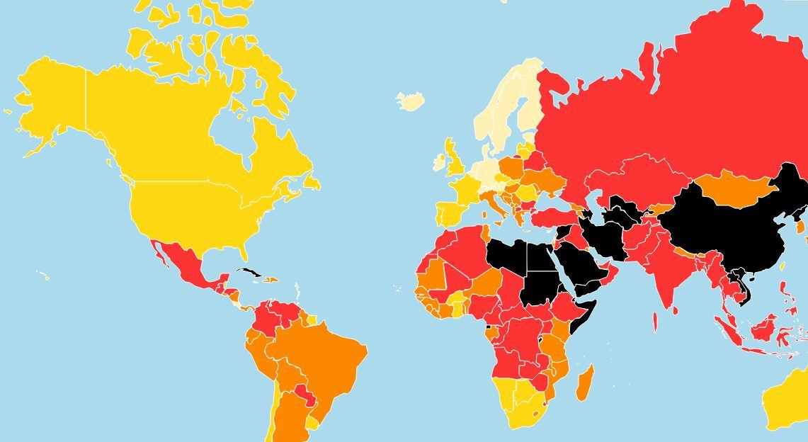 Raport Reporteri Fără Frontiere: Niciodată libertatea presei nu a fost atât de amenințată