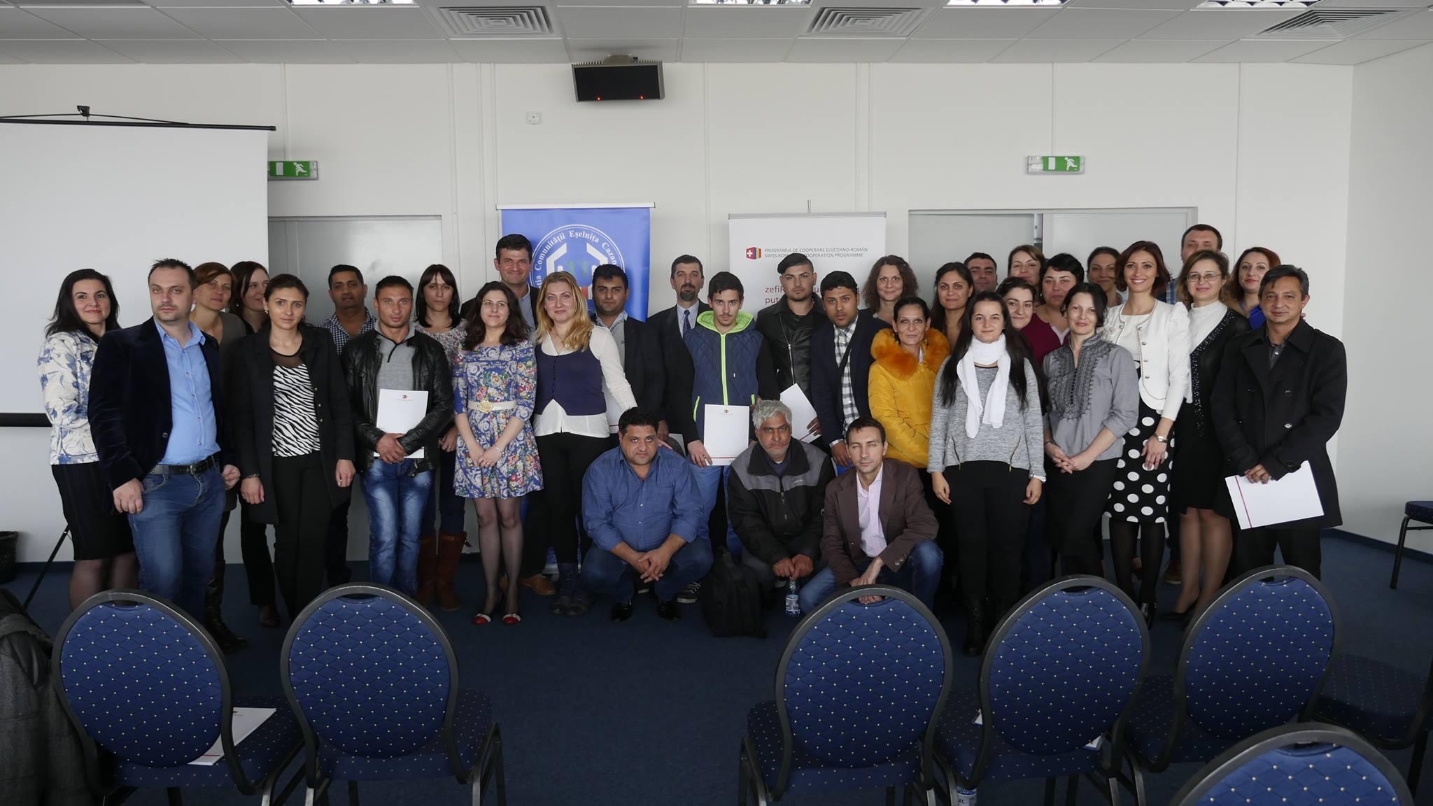 28 de antreprenori romi È™i din alte grupuri vulnerabile, finanÈ›aÈ›i cu peste 160.000 de franci elveÈ›ieni