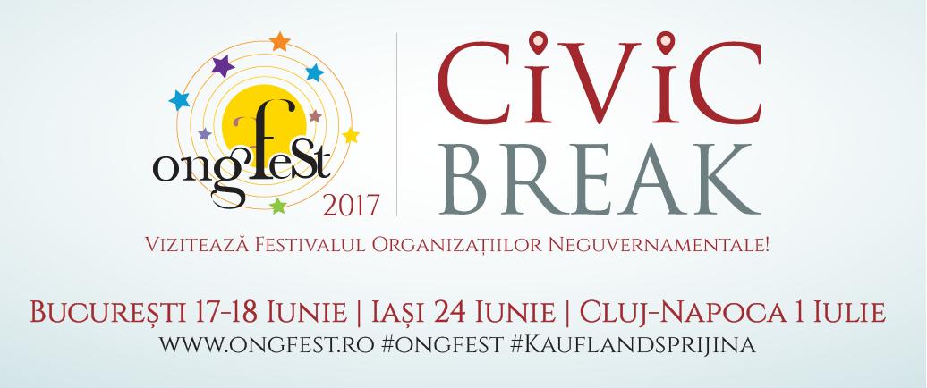 Vineri, ONGurile sunt invitate sa sărbătorească deschiderea ONGFest!