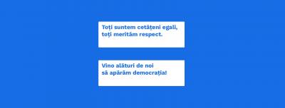"S-a lansat platforma civică ""Respect"