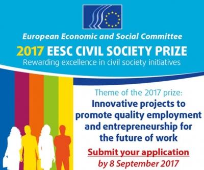 Premiul pentru Societatea Civilă, oferit de Comitetul Economic și Social European
