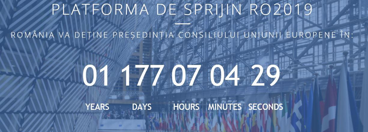 Lansarea website-ului de sprijin pentru Presedintia Romana a Consiliului UE