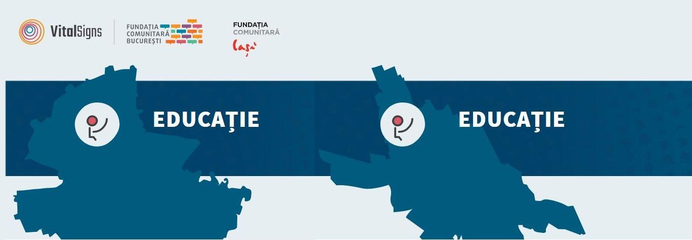 Semnele vitale în București și Iași. Cum stau cu educația?
