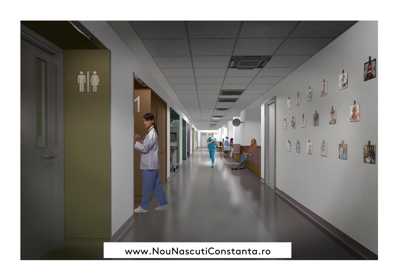 Începe renovarea Secției de Terapie Intensivă Nou-Născuți Constanța