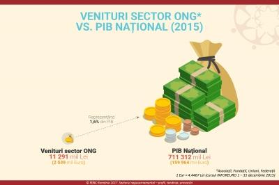 Pe ce poziție se clasează sectorul neguvernamental în clasamentul național?