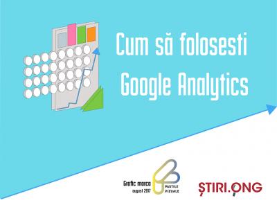 Fă cunoștință cu publicul online prin Google Analytics