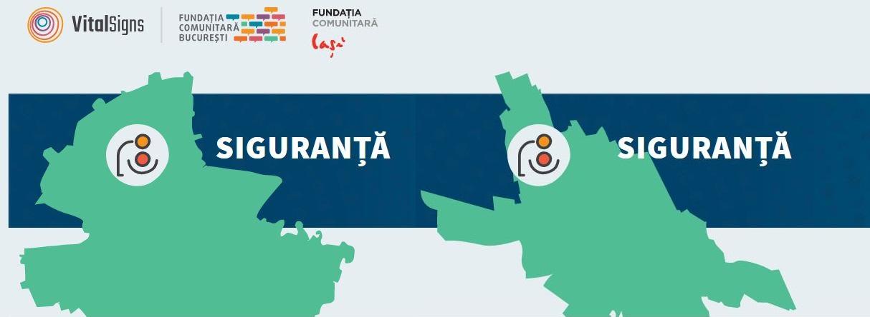 Semnele vitale în București și Iași. Suntem în siguranță pe străzi?