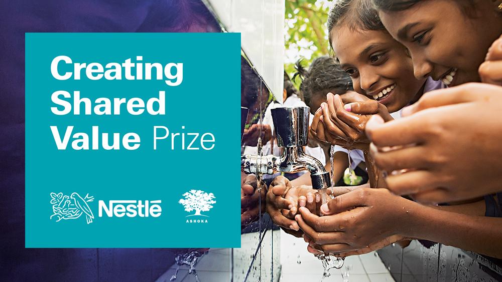Creating Shared Valuea Prize pentru inovatorii care schimbă comunități