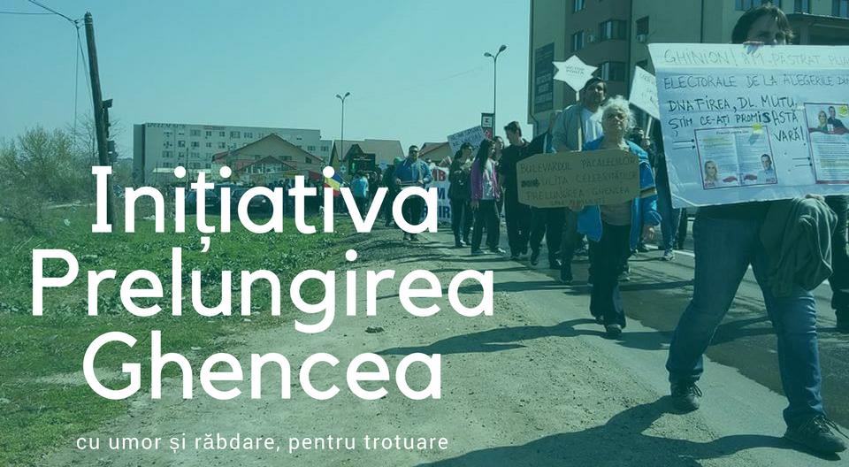 Inițiativa Prelungirea Ghencea, cu umor și răbdare pentru trotuare