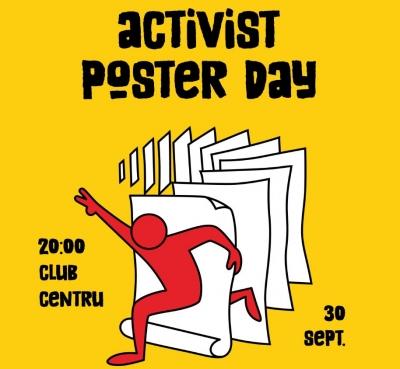 Activist Poster Day, o punte între designeri și activiști