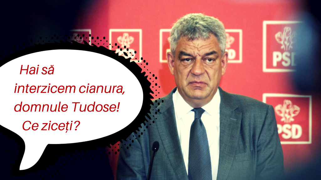 Guvernul României se joacă din nou… cu cianura.
