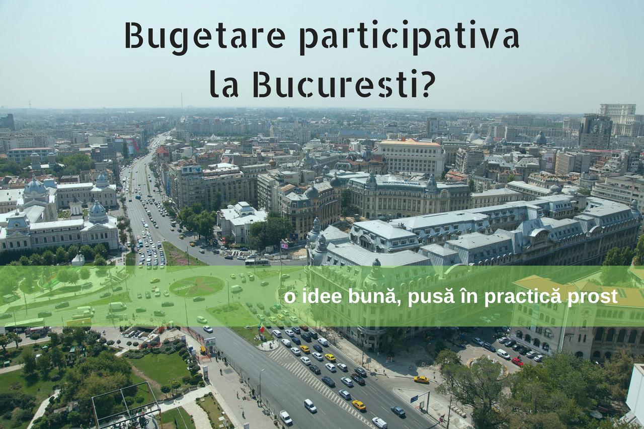 Bugetare participativă la București?