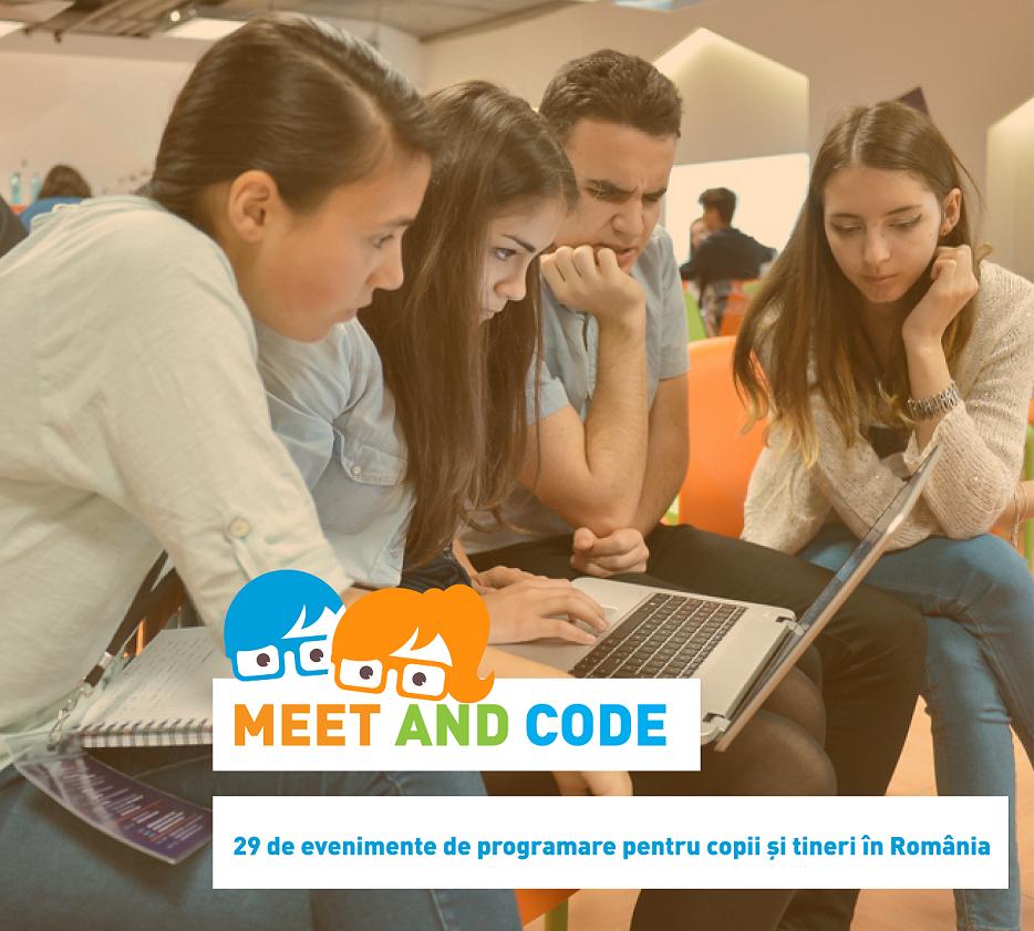 Peste 10 000 USD acordați evenimentelor din România din cadrul Europe Code Week 2017