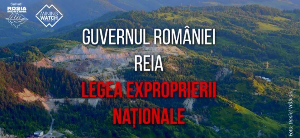 Guvernul României reia legea expropierii naționale