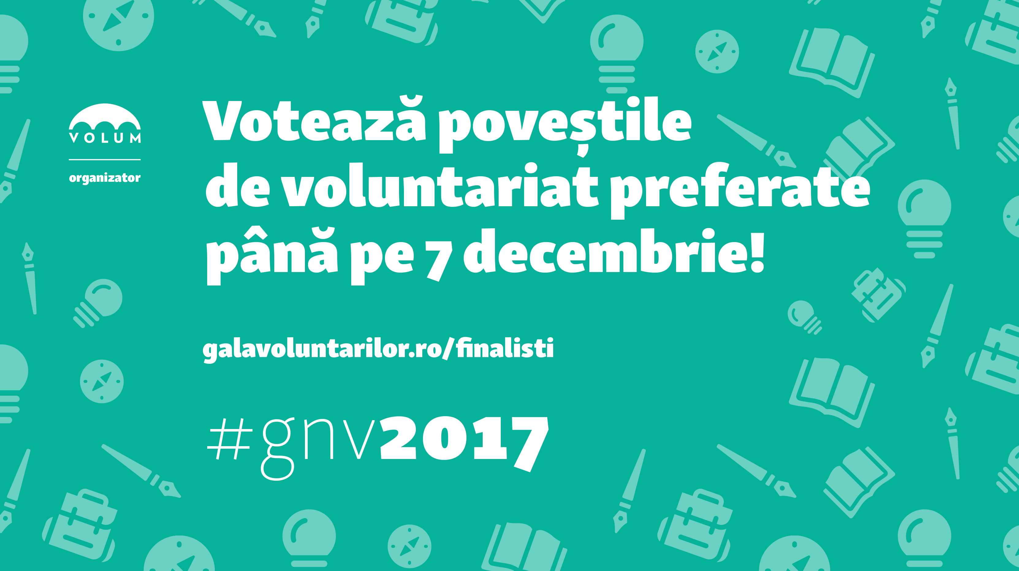 Votează poveștile de voluntariat preferate