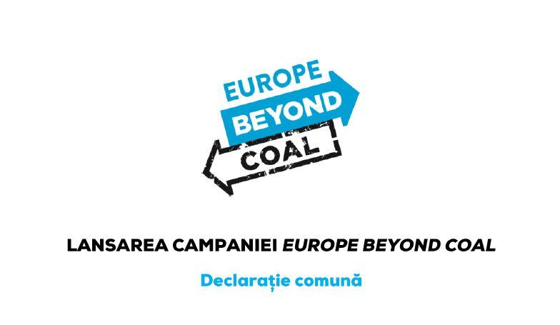 Societatea civilă europeană își unește forțele pentru a trece Europa dincolo de cărbune