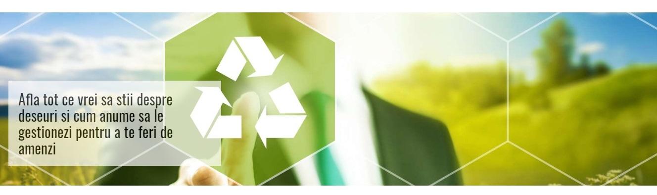 Intră pe ExpertDeseuri.ro  - platformă online de raportare a deşeurilor