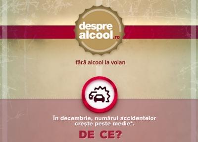 În decembrie, cinci persoane sunt implicate în fiecare oră în accidente rutiere