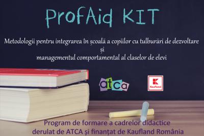 ProfAid Kit deschide preselecÈ›ia pentru 30 de È™coli din BucureÈ™ti, PloieÈ™ti È™i Alexandria