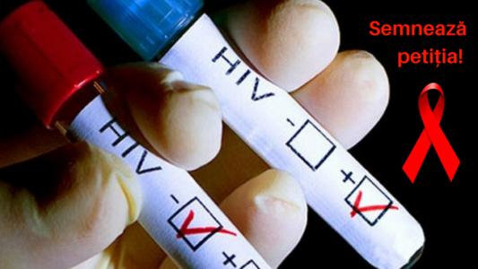 Cerem adoptarea Planului NaÈ›ional Strategic HIV/SIDA (2018-2020)