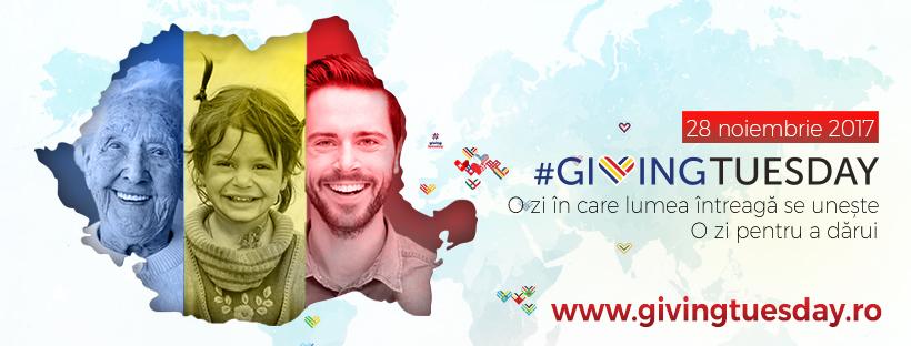 Peste 100 de inițiative au marcat ziua mondială a faptelor bune Giving Tuesday