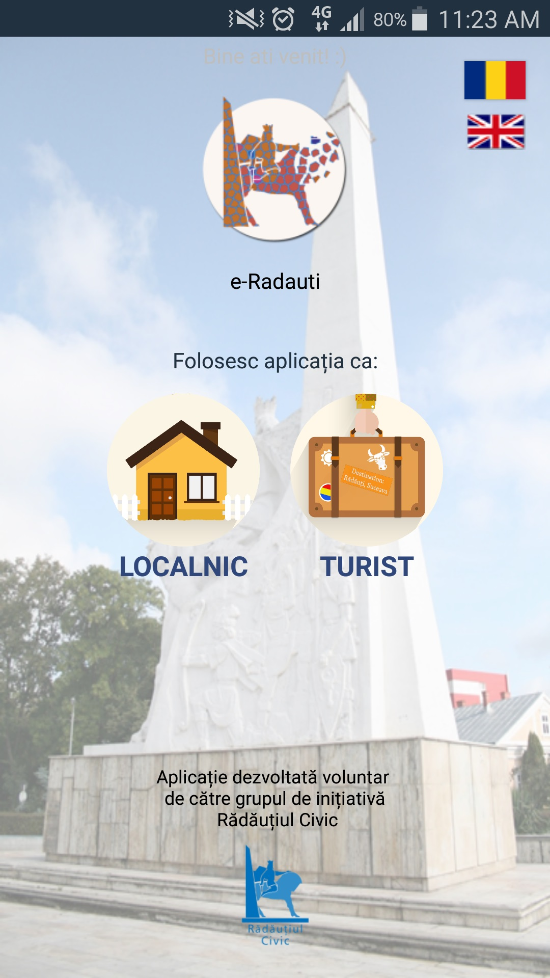 """Grupul """"Rădăuțiul Civic"""" lansează aplicația mobilă """"e-Rădăuți"""""""
