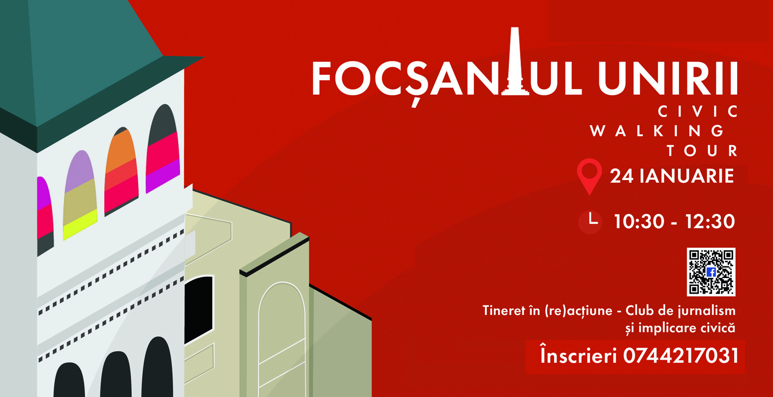 Focșaniul Unirii – civic walking tour