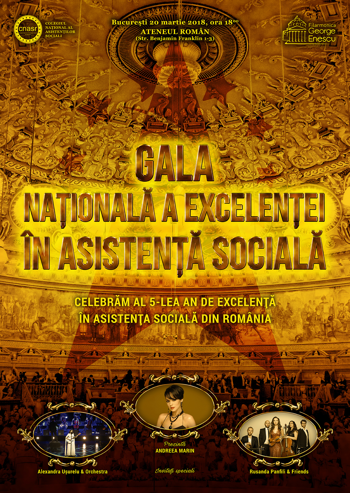 S-a dat startul votului online pentru Gala Naţională a Excelenţei în Asistenţa Socială