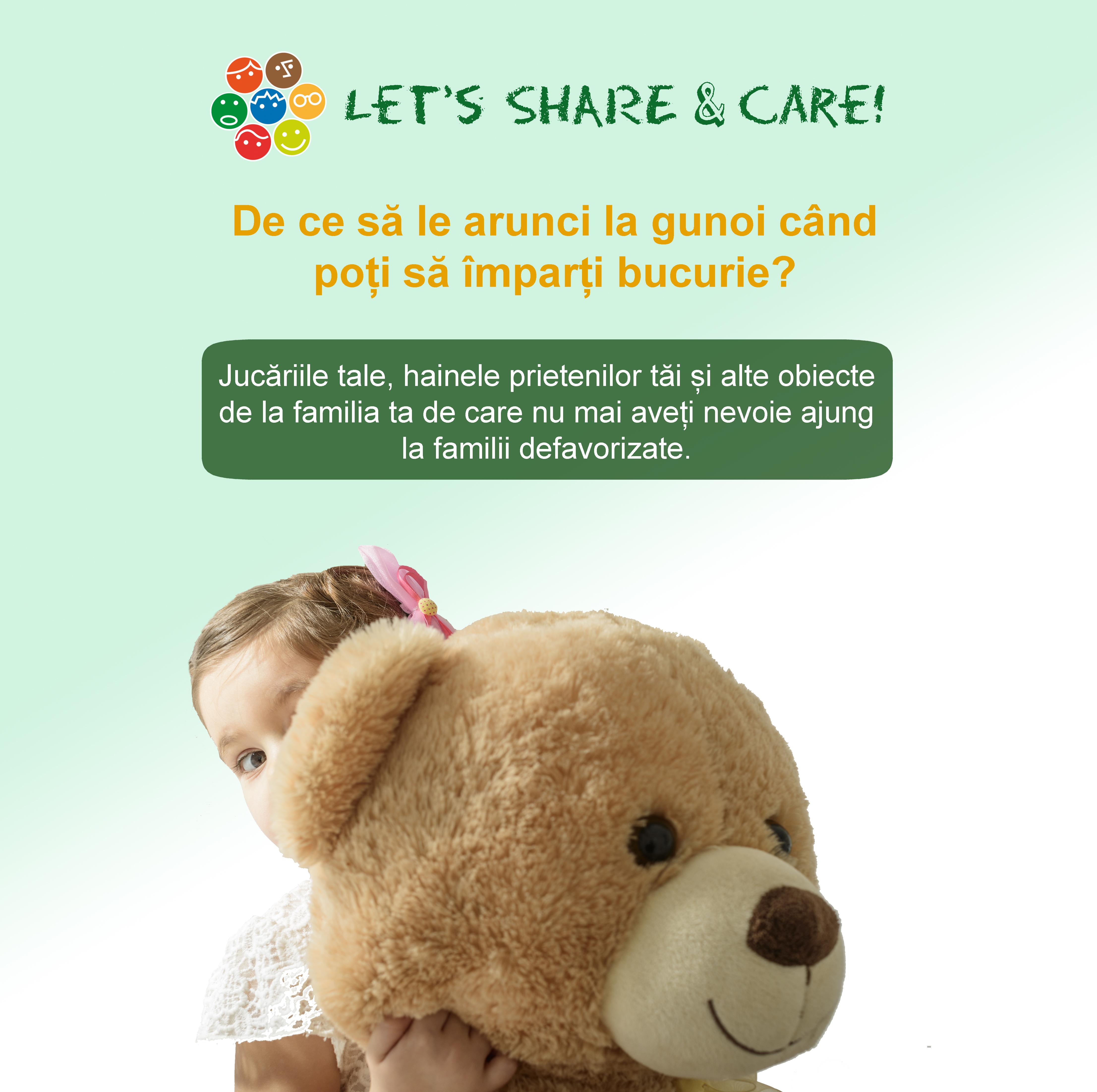 """""""Let's Share & Care!"""" – 26 de tone de resurse salvate  şi 850 de elevi din comunităţi dezavantajate sprijiniţi să meargă la școală"""