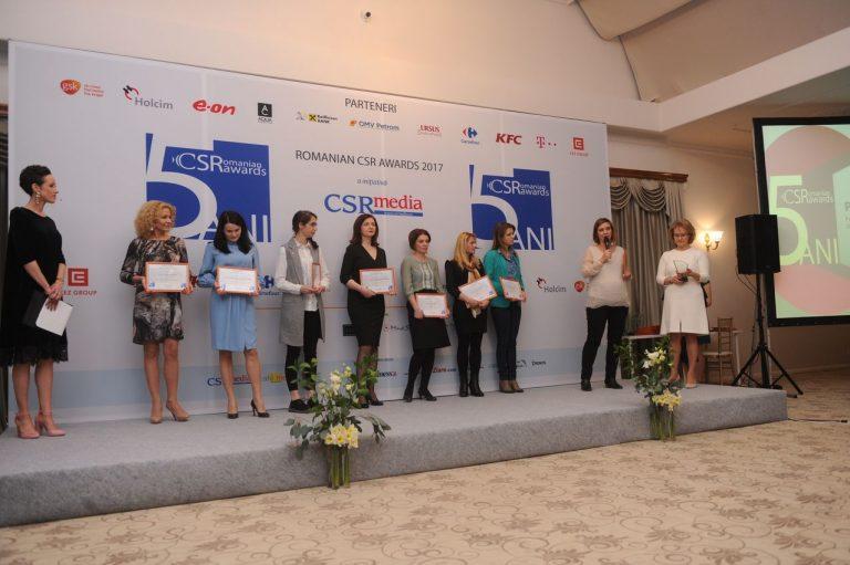Până pe 23 Februarie puteţi înscrie proiecte în competiţia Romanian CSR Awards