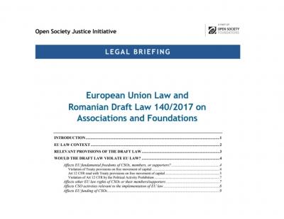 Aproape 50 de organizații românești și internaționale se raliază unei noi expertize juridice asupra inițiativei Pleșoianu: Propunerea de modificare a OG26/2000 încalcă dreptul comunitar