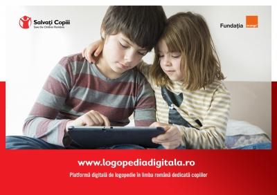 Platforma educațională Logopedia: limbaj mai bogat pentru mai mult de 800 de elevi cu deficiențe de auz sau vorbire
