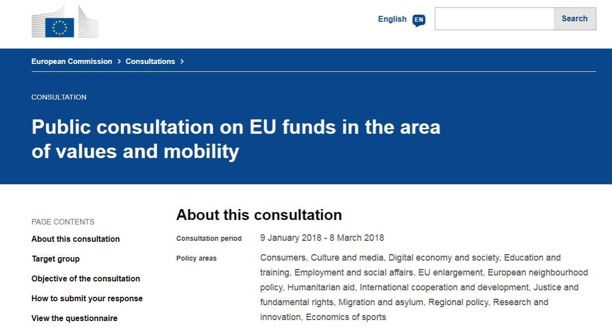 Peste 50 de ONG-uri din România susțin Instrumentul Valorilor Europene ca nou program de finanțare al UE