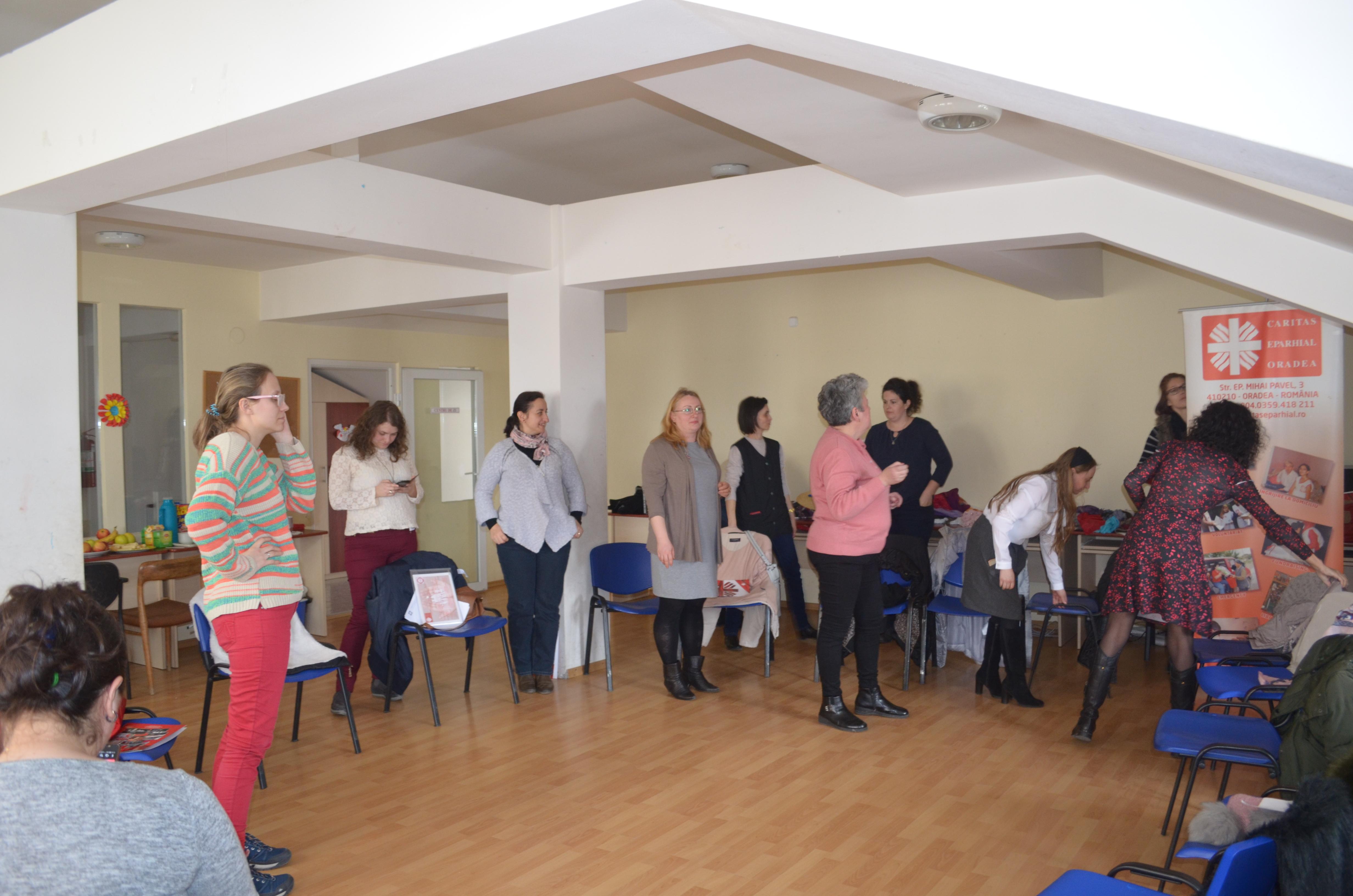 Workshop de autocunoaştere prin tehnici de psihodramă la Oradea