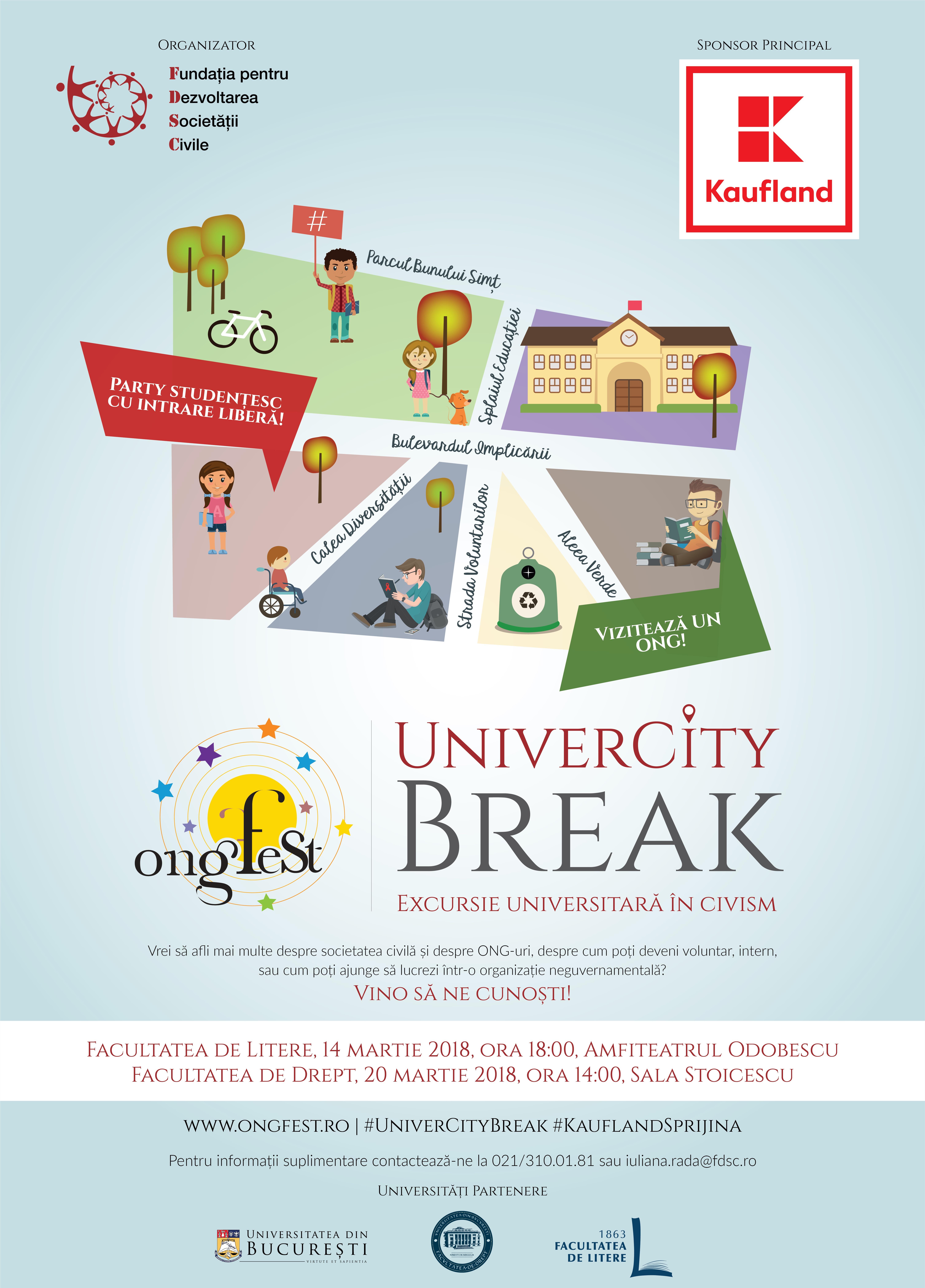 UniverCity Break - excursie universitară în civism