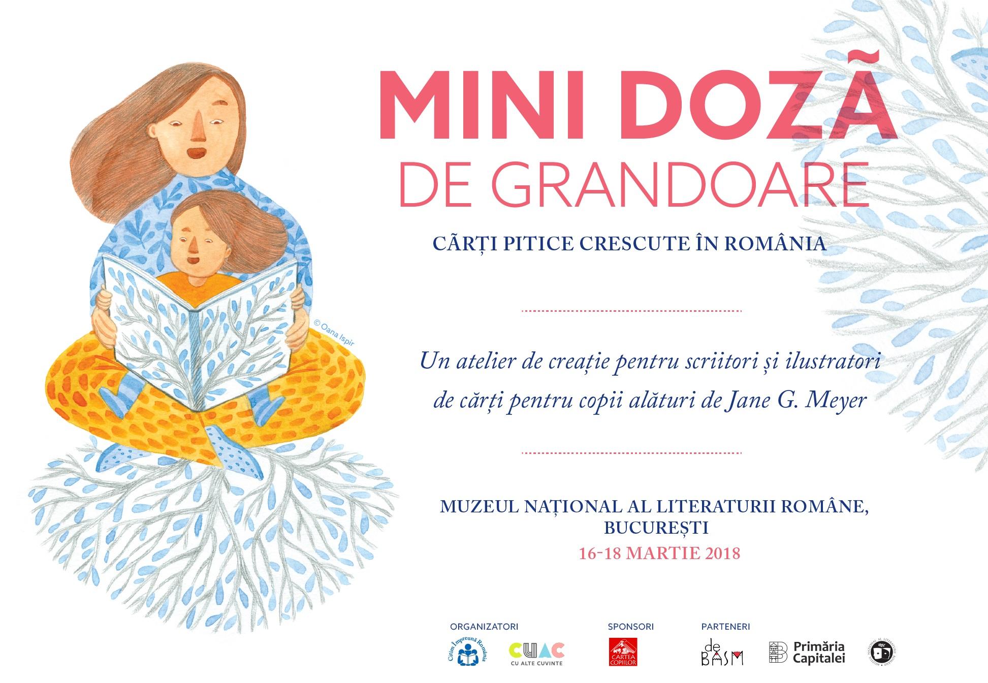 Atelier de creație: Mini-doză de grandoare. Cărți pitice crescute în România