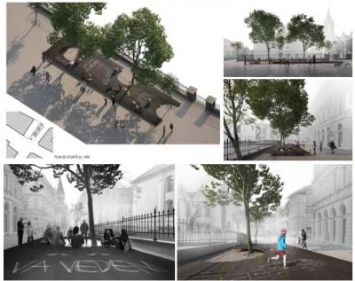"""Primul proiect de amenajare a unui spațiu public din România generat dintr-o mișcare civică: """"Ne vedem în Sibiu"""""""