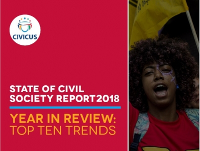 [EN] Civicus 2018 Report Launched: Civil society tackling global challenges with 'resolute resistance'