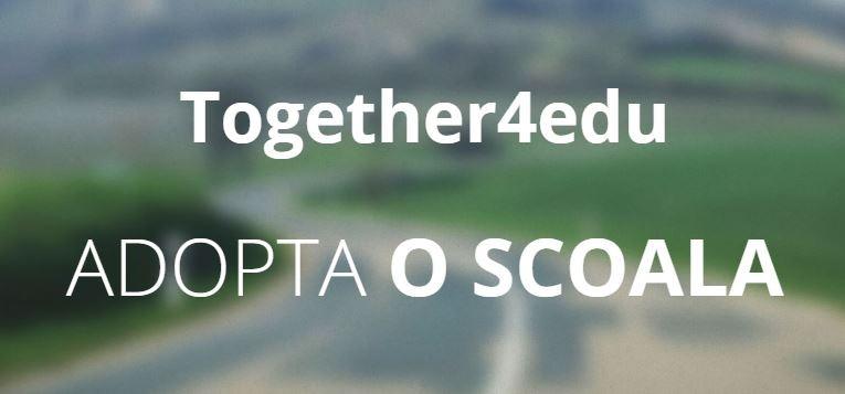 Platforma Together4edu aduce lumea digitală la școlile din rural