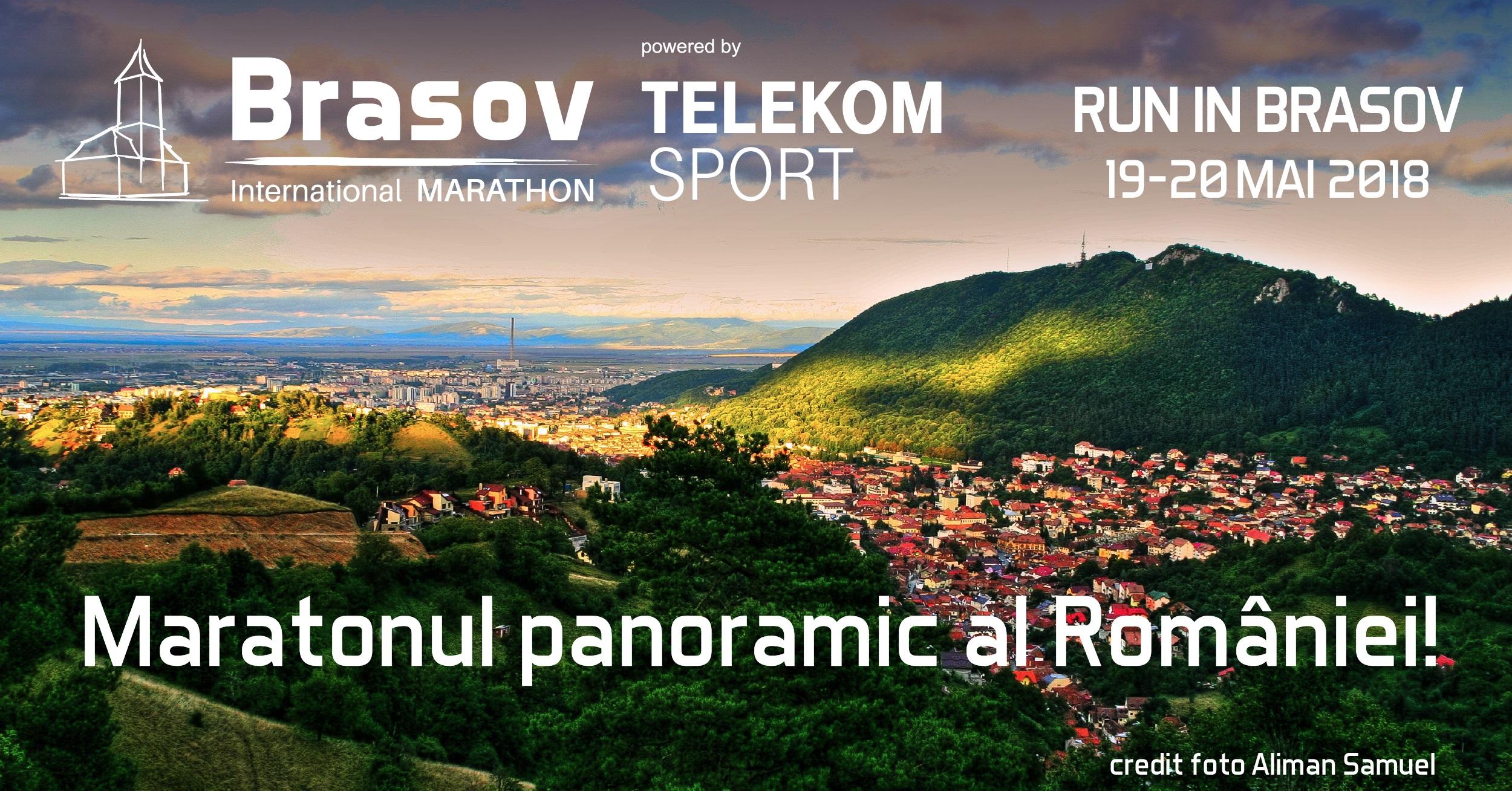 Sportivi din 18 țări, deja înscriși la startul maratonului panoramic al României – Maratonul Internațional Brașov