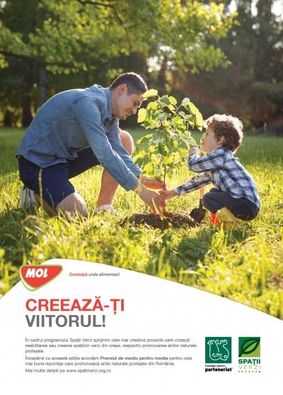 MOL România finanţează 49 de proiecte de mediu în cadrul celei de-a 13-a ediţii a Programului Spaţii Verzi
