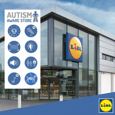 Autism Aware Quiet Evenings - program implementat de Lidl