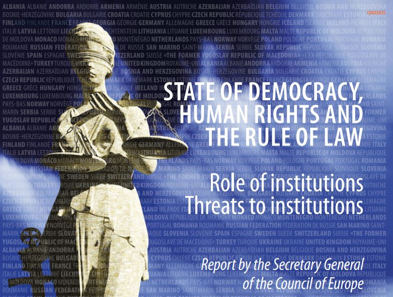 [EN] Romania in the Council of Europe State of Democracy, Human Rights and the Rule of Law Report: Threats on the freedom of association