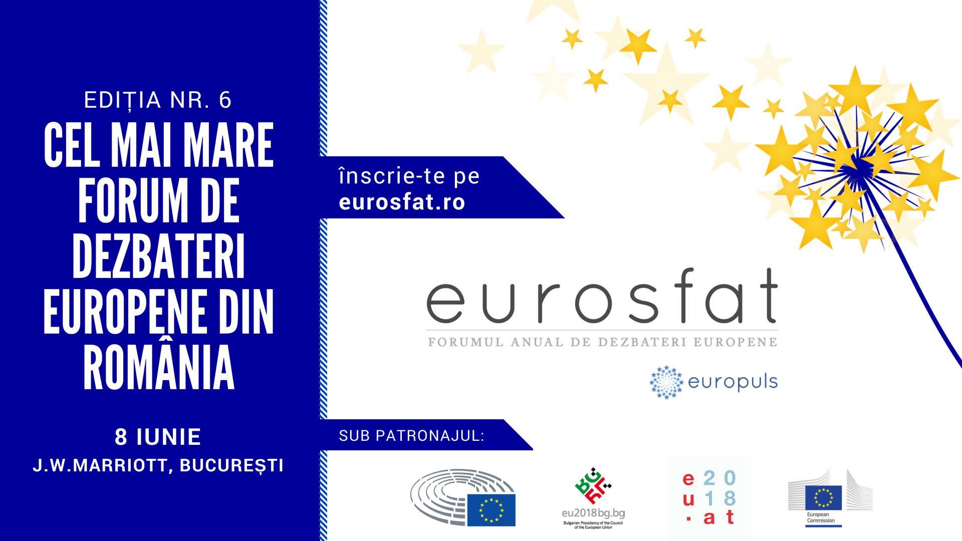 Încep înscrierile la Eurosfat, cel mai mare forum anual de afaceri europene din România