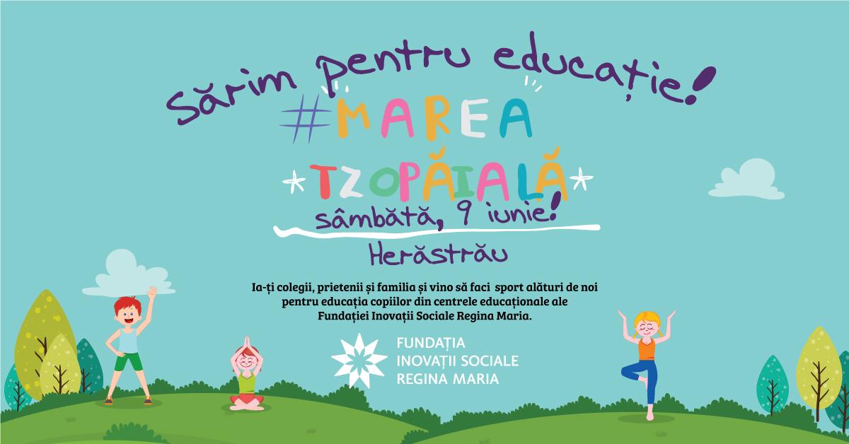 Marea Tzopaială are loc pe 9 iunie 2018 în Parcul Herăstrău