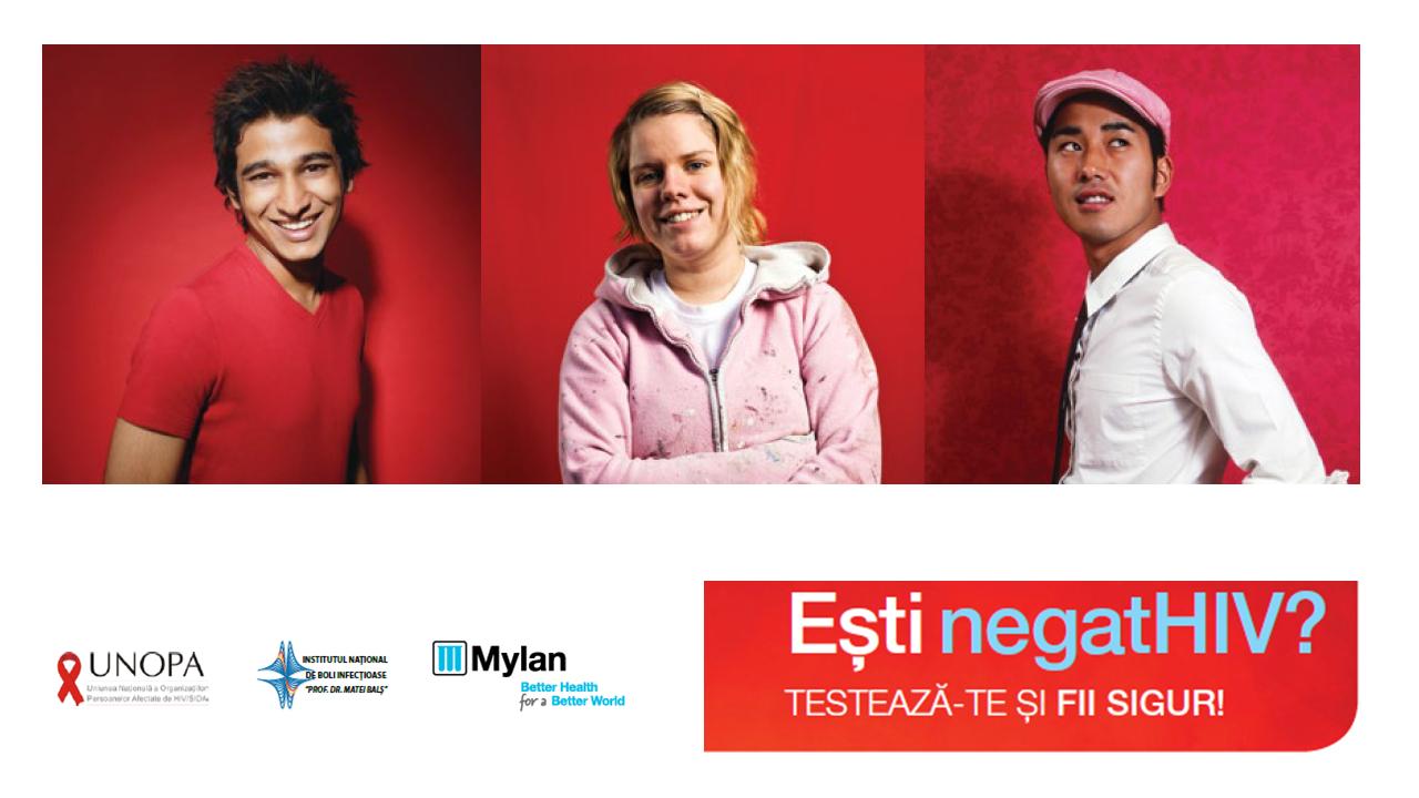 Seminarii educative pentru studenți, pe tema prevenirii și diagnosticării infecției HIV, derulate de UNOPA cu sprijinul Mylan România