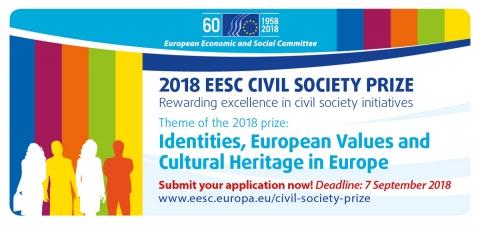 Deschiderea competiției pentru Premiul Societății Civile 2018