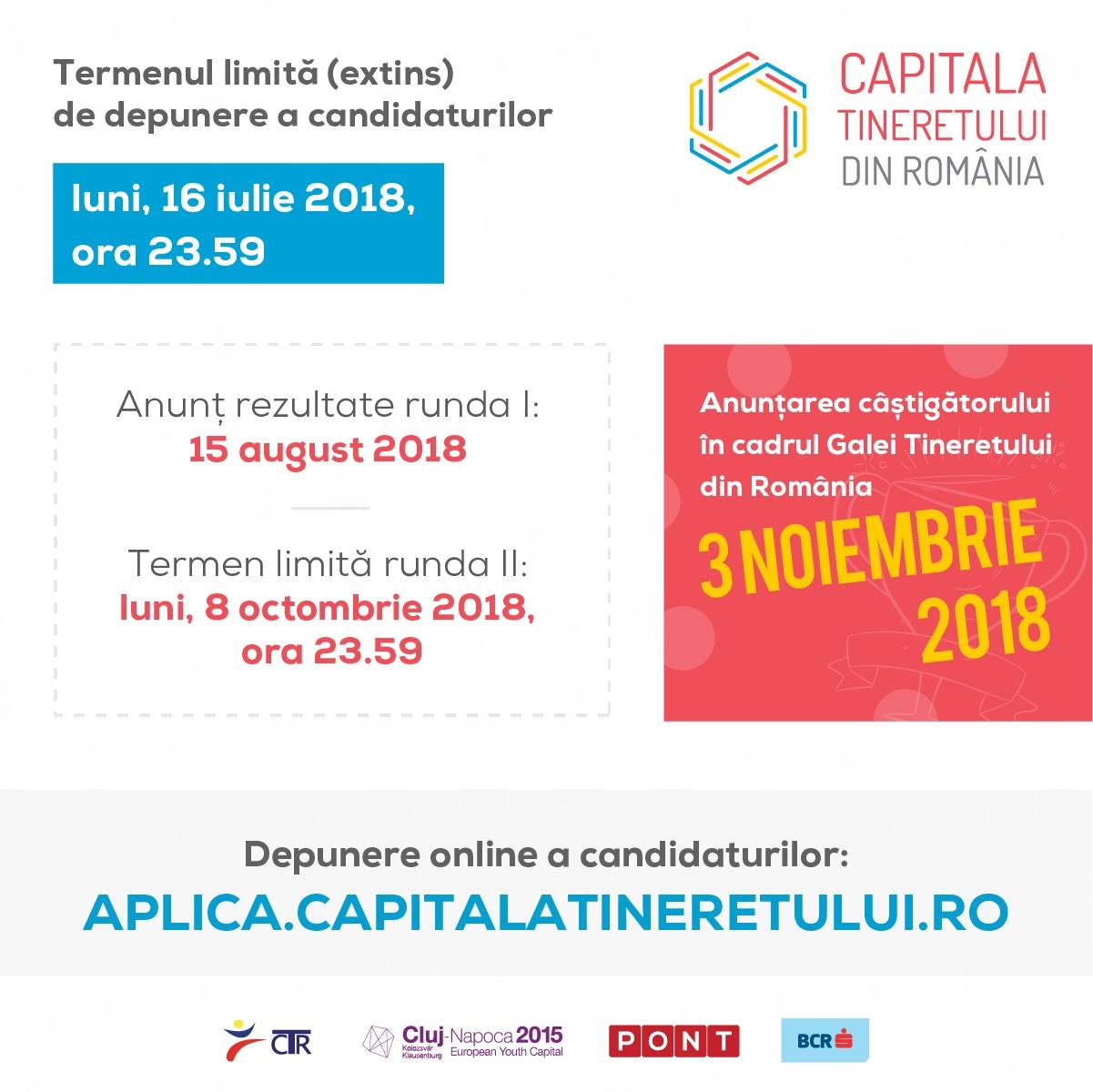Competiția pentru titlul Capitala Tineretului din România