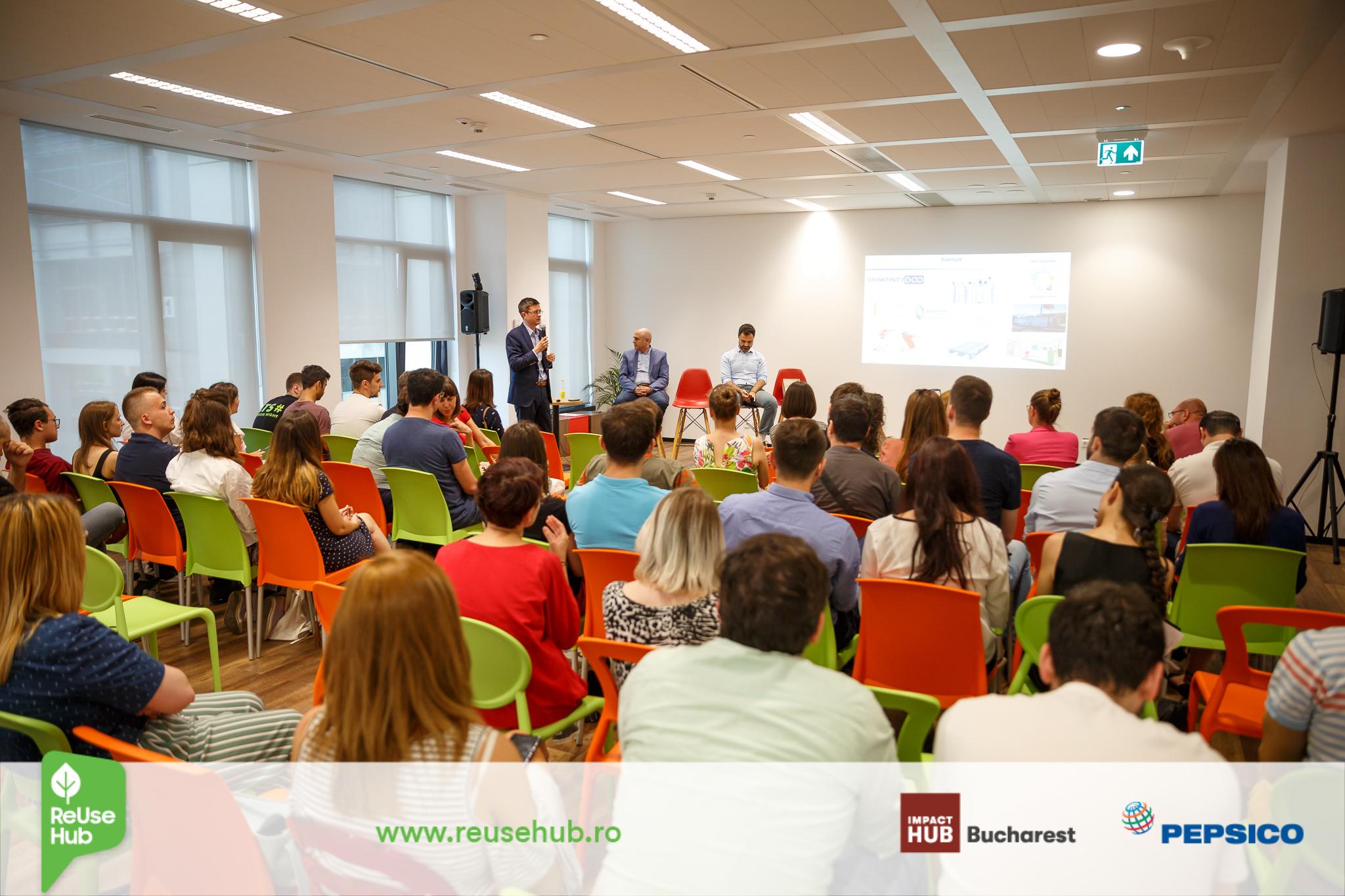 Soluții inovatoare în domeniul reciclării  prin programul ReUse Hub