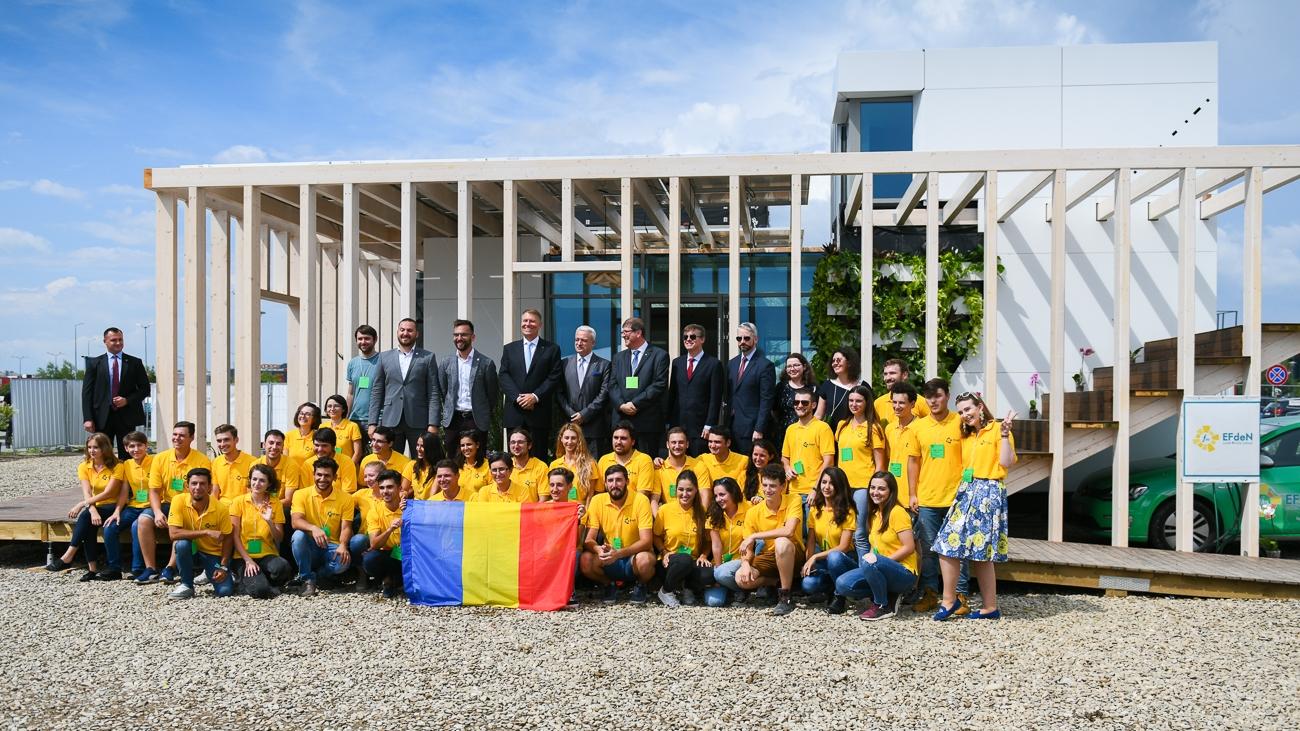 Casa solară EFdeN Signature, inaugurată în prezența Președintelui României